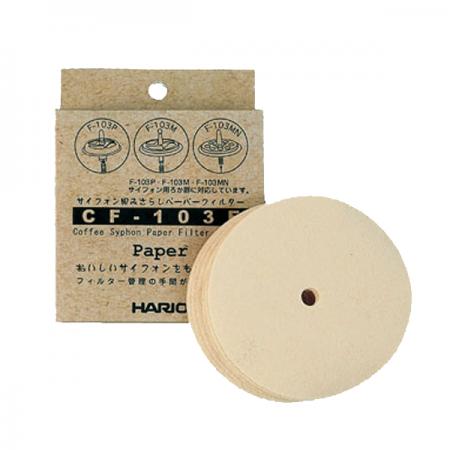 Hario papírové filtry na Vacuum pot (CF-103E)